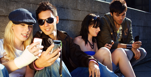 Mobiles account for half of internet time for 16-24s