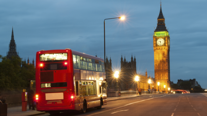 London buses test out the first consumer experience of the Physical Web