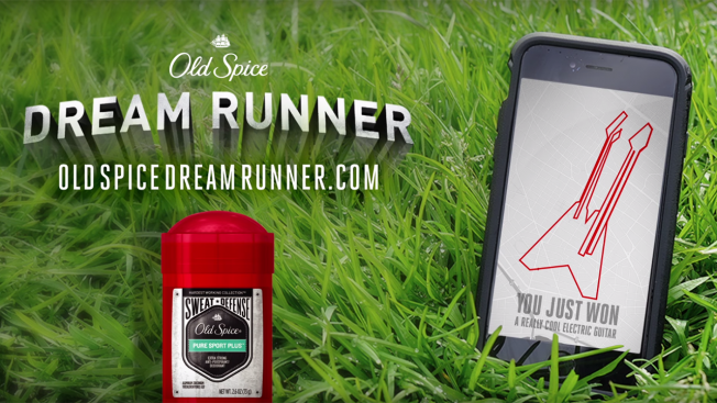 Old Spice Offers to Turn Your Run Maps Into (Questionably) Fabulous Prizes