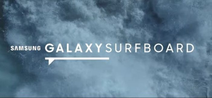 Samsung's Galaxy Surfboard Helps Make Surfing a 'Social' Sport