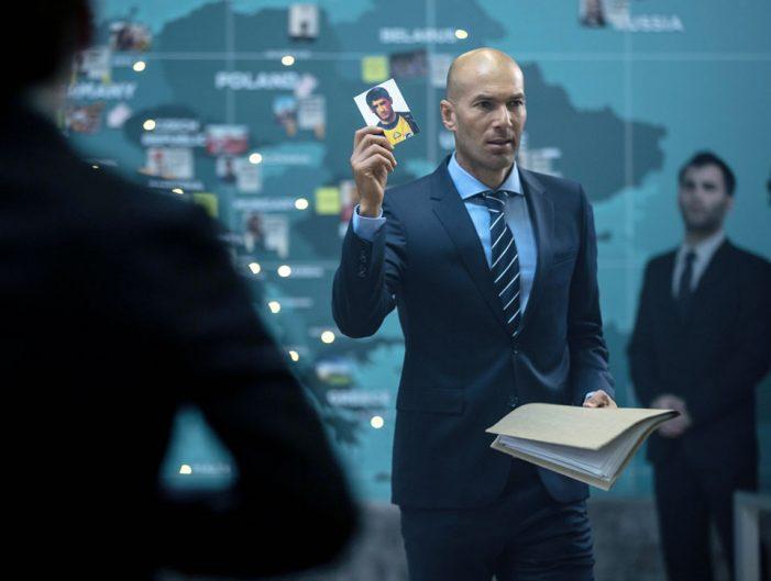 Zinedine Zidane is the Big Boss in This Eurotrip of an Orange Spot