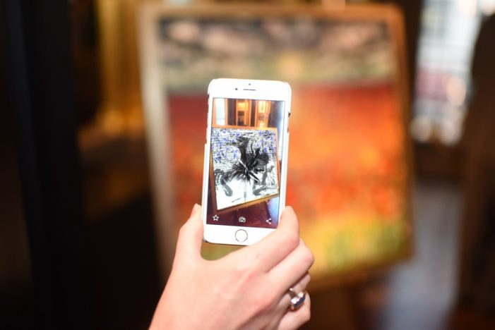 The World's First Augmented Reality Fine Artist