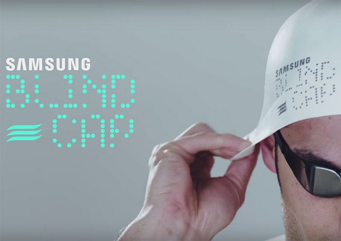 Cheil Spain & Samsung's innovative swimming cap breaks barriers for Paralympic swimmers