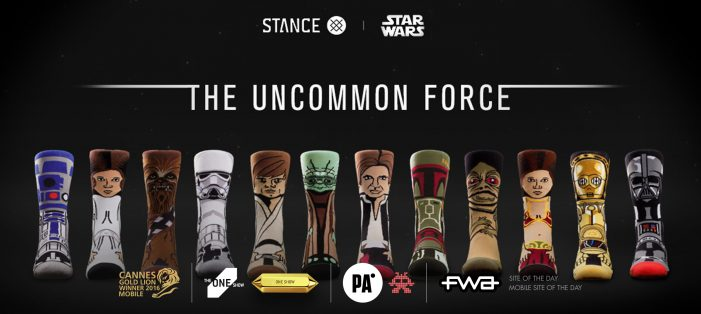 "Stance's ""Shop with the Force"" campaign generates over 3.4 million activations for the brand"