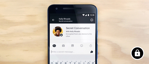 Facebook Tests Secret Conversations On Messenger