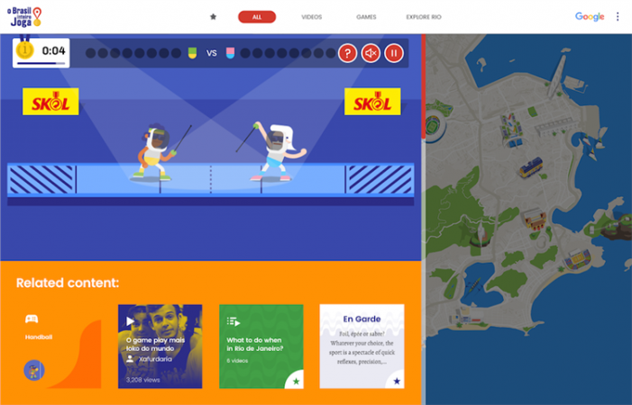 Google Zoo Invites Brazil to Play with 2016 Olympic Digital Platform