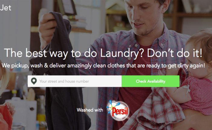Persil partners 'Uber for laundry' service ZipJet