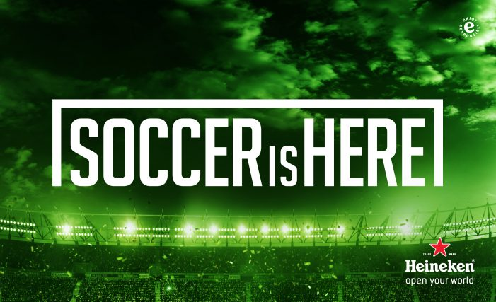Heineken helps New Yorkers find pubs with football on Television
