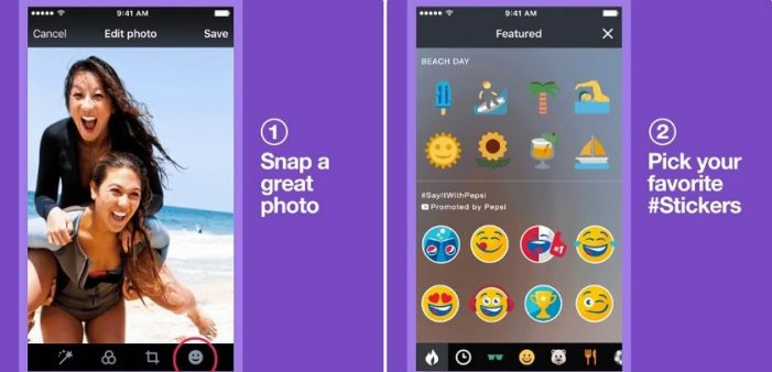 Pepsi transforms Twitter users' photos into branded moments with stickers