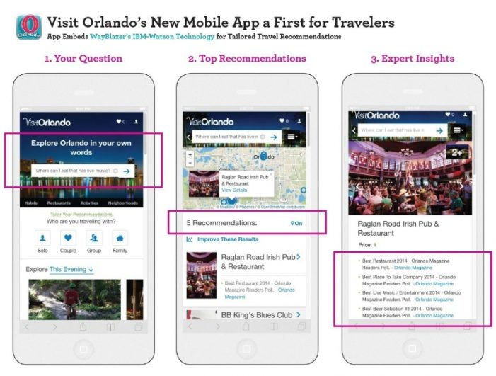 Visit Orlando's New Mobile App a First for Travelers