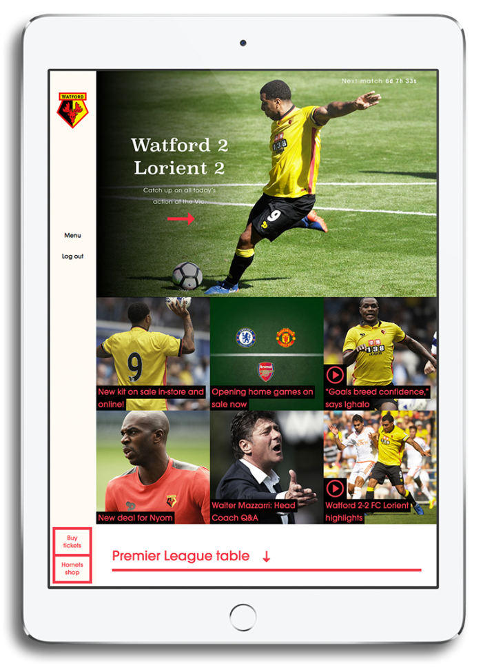 Watford FC and Critical Mass launch world's most innovative football club website