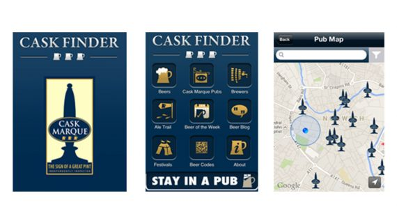 Real Ale Body Launches CaskFinder App