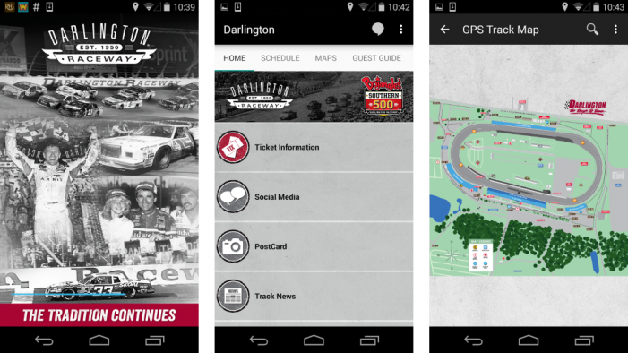 Coca-Cola Teams with Darlington Raceway for Mobile Fan Experience App
