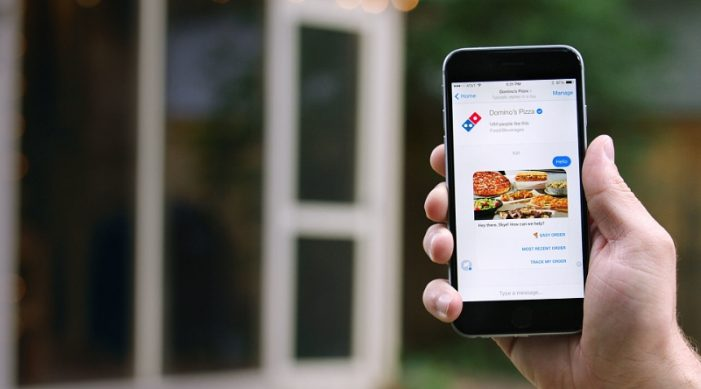 Domino's Launches Messenger Ordering in the U.S.