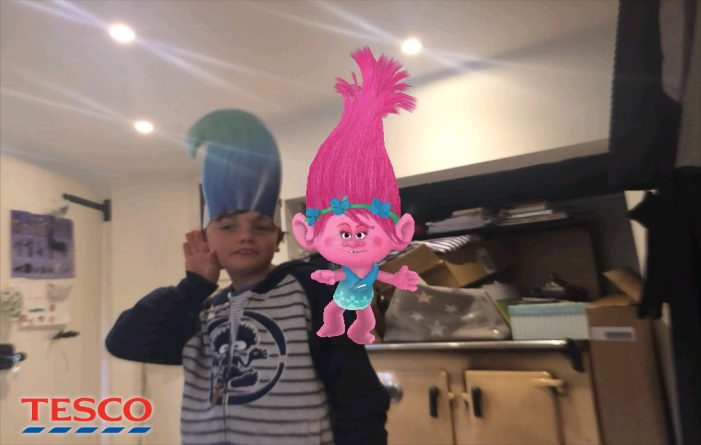 Zappar Brings Augmented Reality Trolls to Tesco