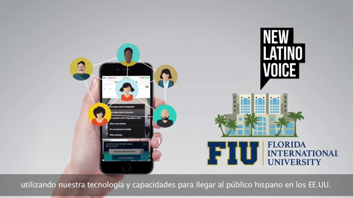 New Latino Voice: Mobile Tracking Poll with Latino Voters