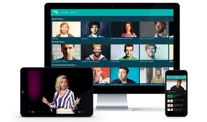Introducing a New Online Platform for Watching Great Stand Up