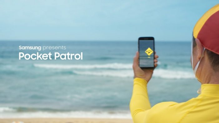 Samsung teams with Surf Life Saving Australia to launch Pocket Patrol app