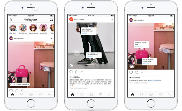 Instagram lets retailers test shopping features in ecommerce push