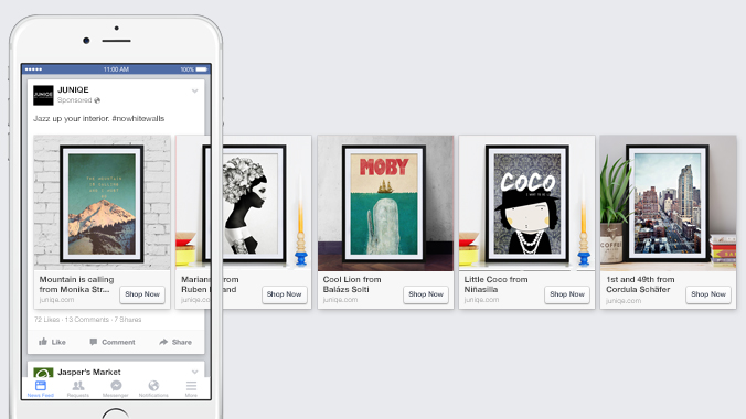 Facebook bolsters ads in one of the company's most important sectors