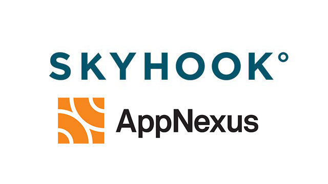 Skyhook Joins the AppNexus Marketplace as First Mobile Location Data Provider