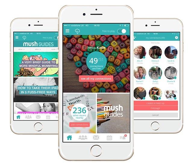Parenting app Mush partners Unilever brand Neutral 0%