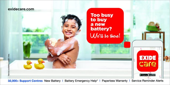 Exide employs Rediffusion Y&R to launch its new App campaign