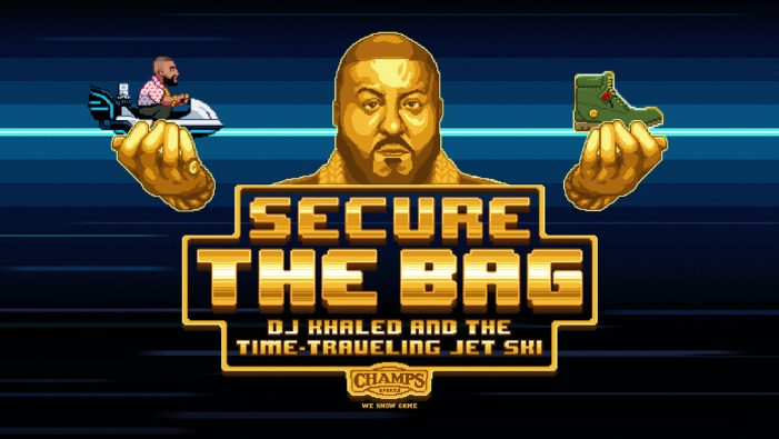 AKQA and Champs Sports unveil retro themed game for DJ Khaled and Timberland