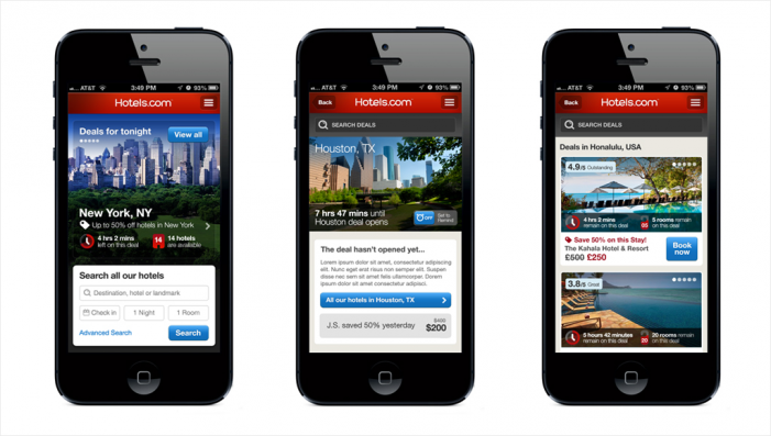 Hotels.com Introduces In-app Mobile Concierge