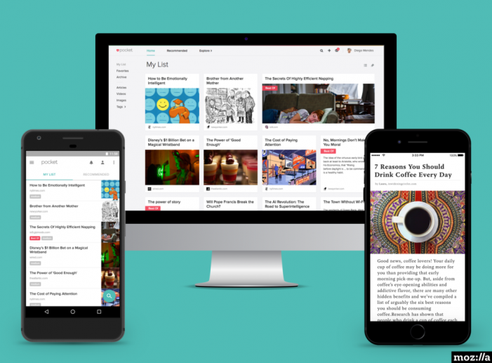 Mozilla acquires Pocket developer Read It Later