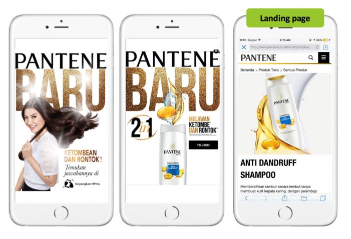 SILVER at MMA Smarties for Out There Media and MediaCom with 'micro-targeting at scale' for P&G's Pantene campaign in Indonesia