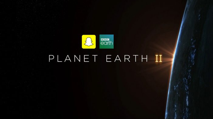 Snapchat Teams Up with the BBC for Planet Earth II Exclusive