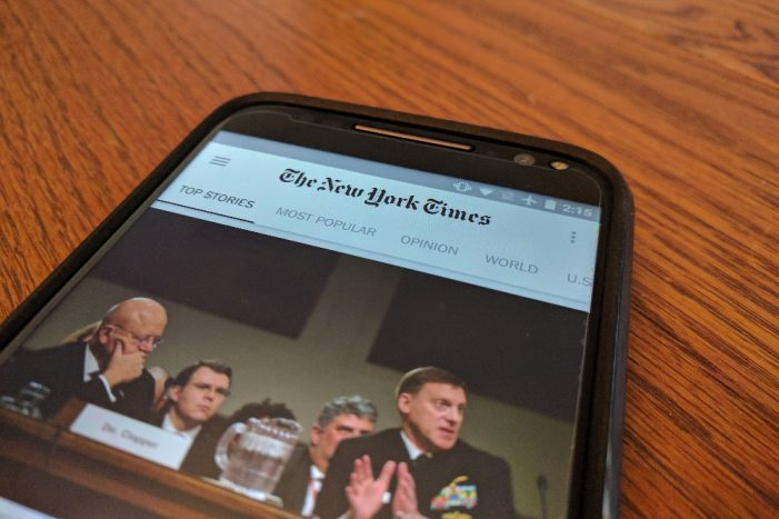 The New York Times Announces Upcoming Launch on Snapchat Discover