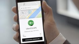 Transavia teams with Uber to turn an ordinary taxi ride into a flight abroad
