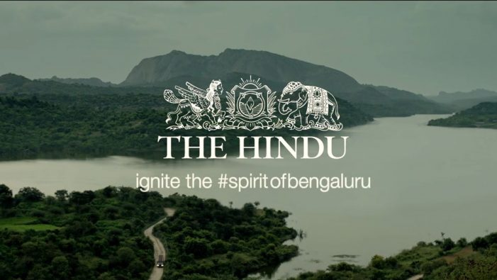 JWT India & The Hindu Newspaper create a mobile app to change the view of Bangalore