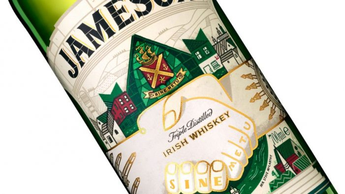 Jameson Unveils Limited Edition NFC-Enabled 'Connected Bottles'