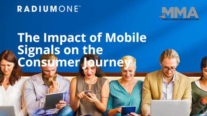 RadiumOne & MMA Report Reveals Untapped Opportunities for Marketers with the Rise of Mobile