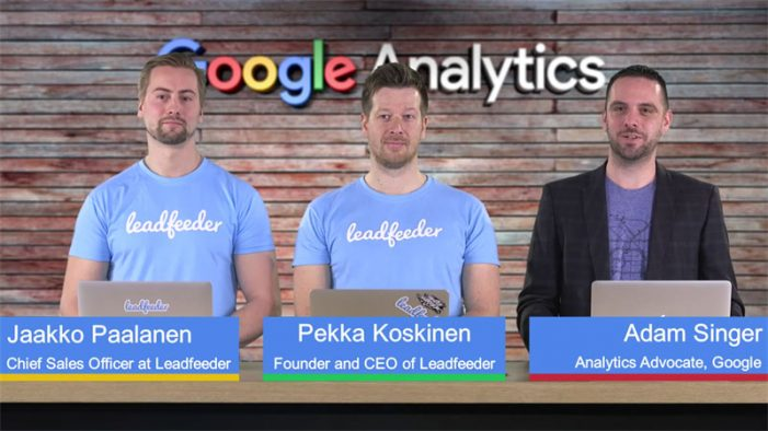 Google and Leadfeeder team up to show how marketing data can help sales teams