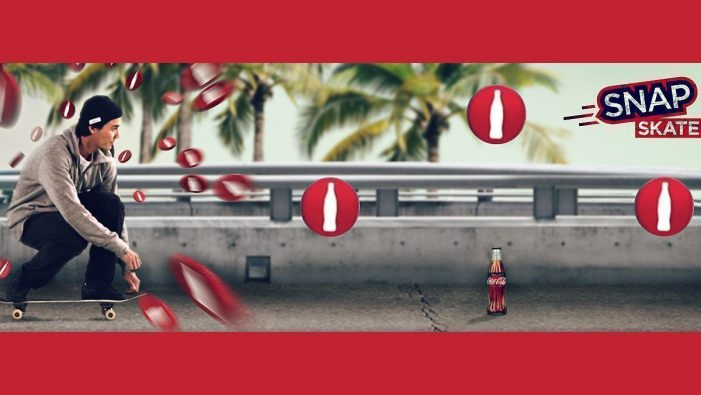 Coca-Cola Germany Launch 'SnapSkate' The First Ever Native Snapchat Game