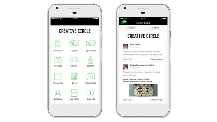 The Creative Circle Relaunches App for 2017