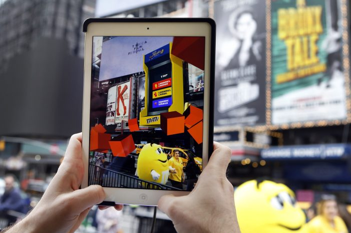 Blippar help M&M's launch new caramel flavour with ARcade experience