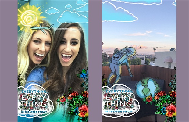 "Snapchat ""Sponsored World Lens"" turns 3D augmented reality into ads"