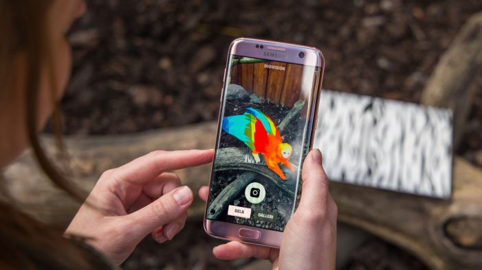Swedish Zoo uses AR animals to boost awareness of endangered species