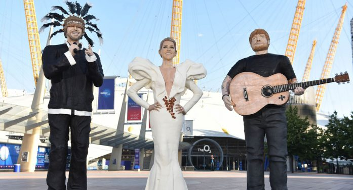 O2 unveils Ginger Br-Ed Sheeran, Praline Dion and JAM-iroquai to celebrate 10 years of The O2