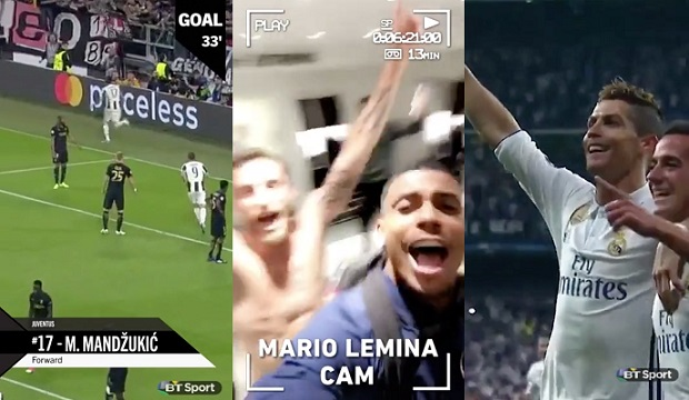 BT Sport partners Snapchat for Champions League Final in the UK
