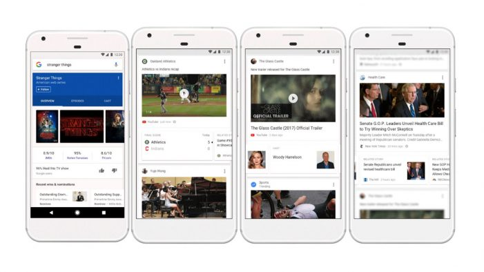 Google's Mobile Search App to include personalised 'feed'