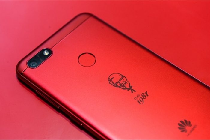 KFC Teams with Huawei to Release its own Limited Edition Smartphone