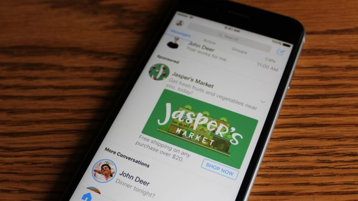 Facebook brings display ads to Messenger