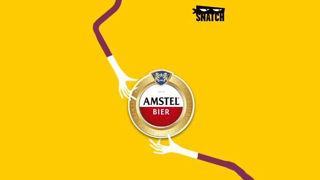 Amstel Lets Consumers 'Snatch' Free Pints via Augmented Reality Game