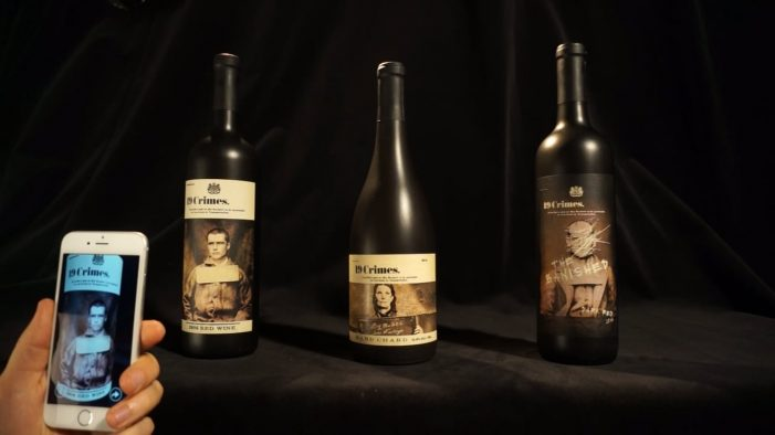 J. Walter Thompson Brings 19 Crimes' Wine Bottles to Life via a New Immersive AR App